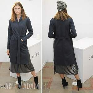 hand made fashion płaszcz simple long coat