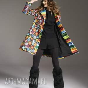 MoRe Fashion płaszcze: Płaszcz stefania 2145 - ręcznie wykonane