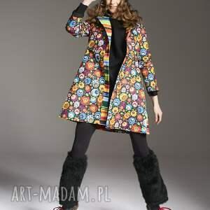 płaszcze płaszcz w-kwiaty stefania 2145