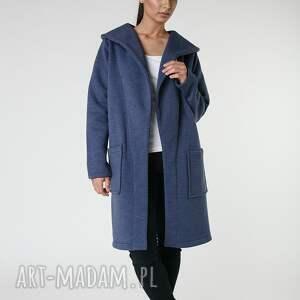 płaszcze długi płaszcz z ciepłym kołnierzem