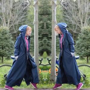 niekonwencjonalne płaszcze kombinezon płaszcz z krainy czarów