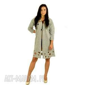 oryginalne płaszcze swetry płaszczyk modernity