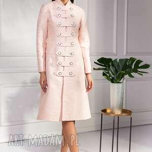 płaszczyk płaszcze różowe płaszcz cloe