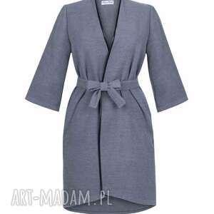 szare płaszcze płaszcz płaszczyk wełniany