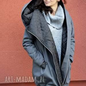 szare płaszcze jesienny płaszcz szary oversize ogromny
