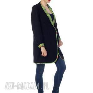 ręczne wykonanie płaszcze designerski wyjątkowy dwustronny płaszcz