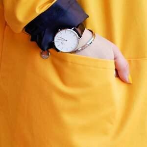 kurtka parka płaszcze żółty płaszcz oversize ogromny