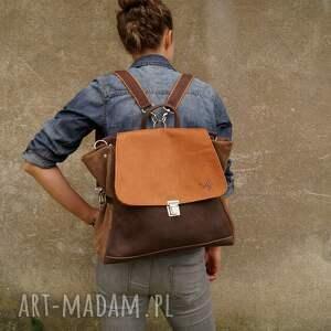 hand-made plecaki nubuk ach ludwiko!! plecak/torba ciepłe