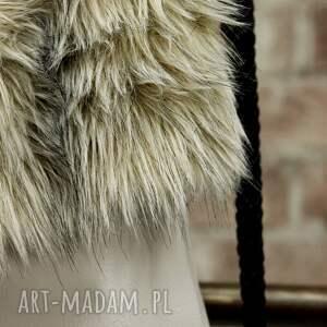 skórzany plecaki bbag grey wind plecak worek