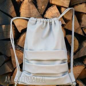 eleganckie plecak bbag worek ekoskóra