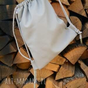 eleganckie worek bbag plecak ekoskóra