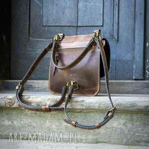 Ladybuq Art Studio torebka brązowa torba plecak