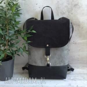 czarne damski plecak