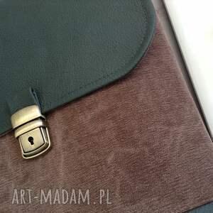 przechowywanie brązowe damski plecak