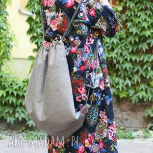 handmade plecaki nerka duży plecak na lato