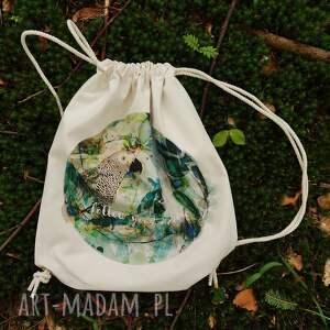 handmade plecaki eco follow your nature plecak / worek