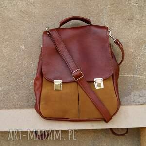 ręcznie wykonane plecaki plecak lilith chimera plecak/torba