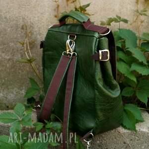 unikatowe plecaki pullup lilith chimera plecak/torba zielona