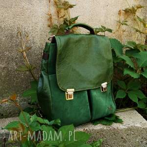 zielone plecaki pullup lilith chimera plecak/torba zielona