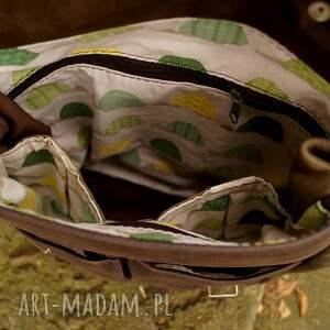 brązowe zgniła plecak z funkcją torby. bardzo kobiecy