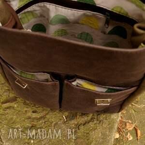 plecakotorba zielone lilith chimera plecak/torba