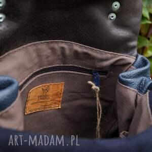 niebieskie torba lilith plecak/torba granatowa