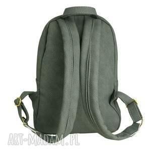 handmade duży manzana plecak szkolny a4