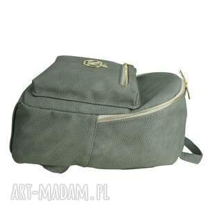 handmade plecak manzana duży szkolny a4