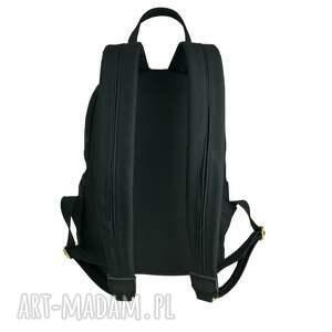 2f94c1725c354 duży plecaki manzana plecak szkolny a4. handmade plecaki manzana duży  plecak szkolny a4 czarny