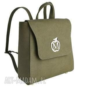 vintage plecaki manzana klasyczny plecak
