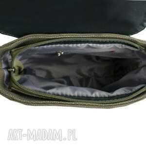 ManzanaTorebki manzana klasyczny plecak vintage ekoskóra - oliwkowy wygodny
