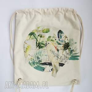 dźungla papuga plecak / worek torba -