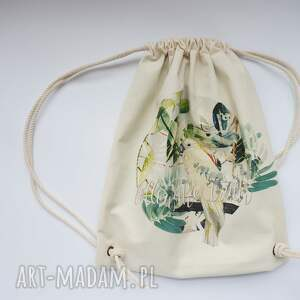 eco papuga plecak / worek torba -