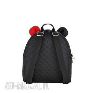 czerwone plecaczek farbiś 671 czarny