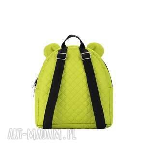 farbiś plecaki plecaczek 652 limonkowy