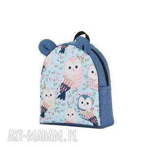 niebieskie plecaki farbiś plecaczek 2228