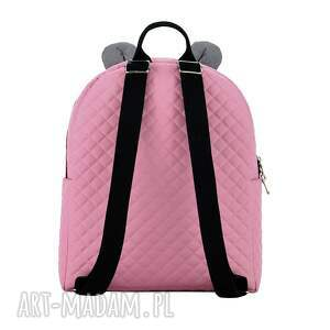różowe plecaki plecak plecaczek farbiś 703 różowo-szary