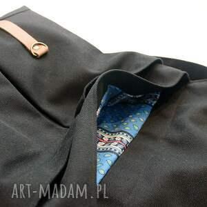 bawełna plecak czarny