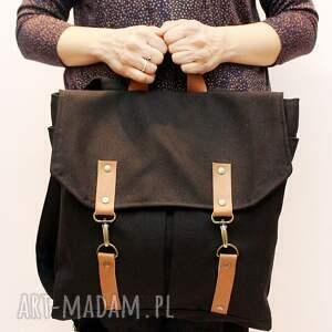 czarne plecak czarny