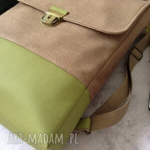 zielone damski plecak