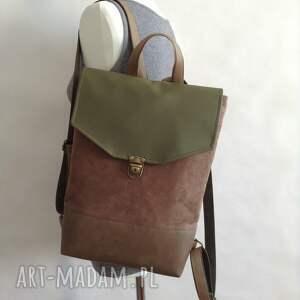 Fabrykawis zielone damski plecak