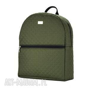 Farbotka plecak damski 659 khaki - rękodzieło