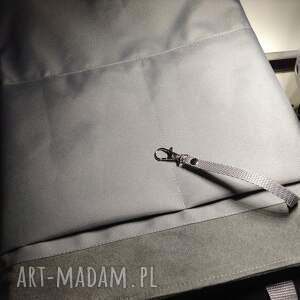 srebrne damski plecak