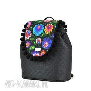 handmade plecak damski z odpinaną klapką to nowość marki