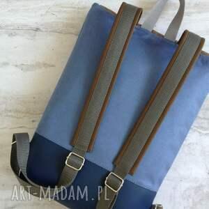 plecak niebieskie