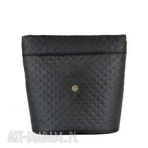 czarny plecak damski puro 830