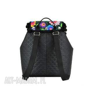 czarne plecak damski puro 830