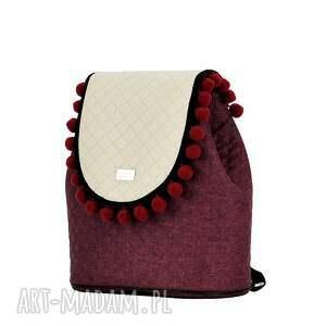 czerwone klapkomania plecak damski puro 713