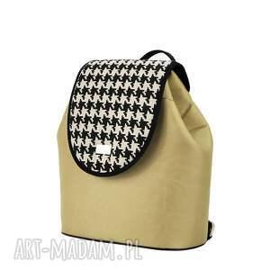 czarne plecaki puro plecak damski 738