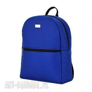 ręcznie wykonane plecaki plecak damski 1014 chabrowy